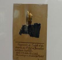 Napoléon III 1854 Garde Impériale Aigle et Drapeau Reliques 1e Régiment Grenadiers Paris