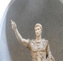 Statuaire Empereur Auguste Prima Porta Rome SCV