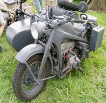 Zündapp Schweres Krad mit Beiwagen KS 750