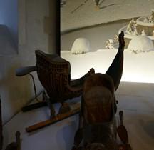 1740 Traineau de neige aux Roseaux Versailles Grandes Ecuries Musée des Carrosses