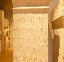 Pouvoir Epigraphie  Base Honorifique Tiberius Pompeius Priscus Tribun V Macedonica Lyon