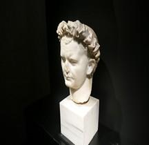 Statuaire 3 Empereurs 1 Vespasien Pompéï Naples Man