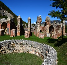 Abruzzes Amiternum Amphithéatre