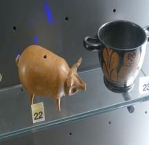 Grèce Céramique Askos Porc Mougins