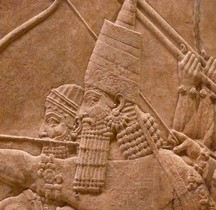Niniveh Palais d' Assourbanipal Chasse Royale  Orthostates Londres BM