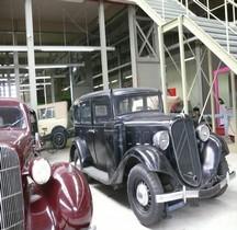 Citroën 11UB Gazogéne Break 1936 Bruxelles