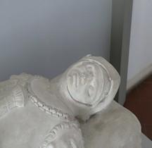 Statuaire XV°  Gisant Guidarello Guidarelli Ravennes