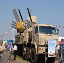 Missile Sol Air Pantsir S 1 Chassis Kamaz