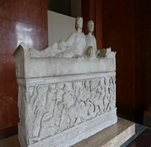 Rome Sarcophage Combat Grecs Vs Amazones France Paris Louvre