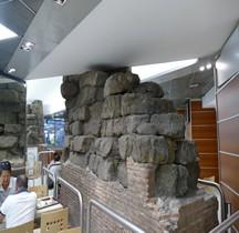 Rome Mura del URBS Murs Serviens Rome Rione Castro Pretorio  Gare Roma  Termini