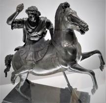 Statuaire Rome Statuette Equestre Alexandre et Bucephale Herculanum Naples MAN