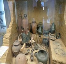 Etrusques Nécropole Vulci Necropole dell'Osteria Tomba del Carro du Bronzo Rome Villa Guilia MNE