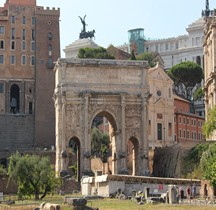Rome Rione Campitelli Forum Romain  Arc de Septime Sèvere