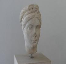 Rome.02 Buste féminin époque Hadrien Villa Hadriana Rome Palazzo Massimo