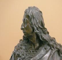 Statuaire..XVIIIe  Antoine Coysevox Buste Grand Condé Louvre Paris