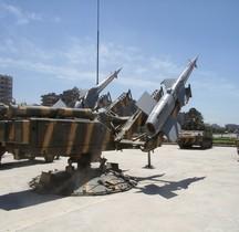 Missile Sol Air SAM 3 Goa  Affut Damas
