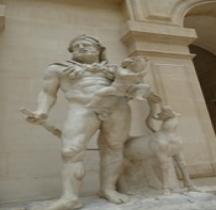 Statuaire Grèce Hérakles et Télèphe Paris
