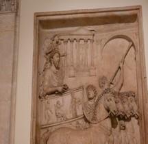 Rome Rione Campo Marzio Arc de triomphe de Marc Aurele ( Disparu )