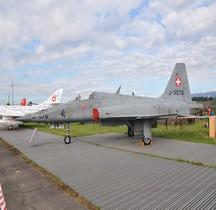 Northrop F-5E Tiger II Fliegerstaffel 13 Payerne 2014