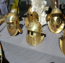 Gladiateur Hoplomaque Casque Loupian 2014