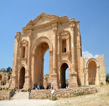 Jordanie Jesrah Gesara Arc d Hadrien