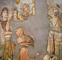 Mosaïque Rome Turquie Antioche Enlevement Briseis USA Paul Getty