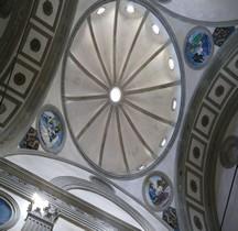 Florence Basilica di Santa Croce Capella dei Pazzi Interieur