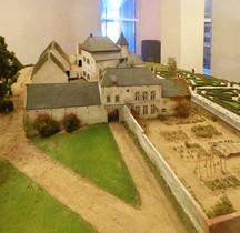 Waterloo Ferme d Hougomont Maquette