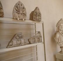 Rome Municipio XI  Temple de Dea Dia  decors Rome Museo Nazionale