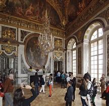 Yvelines Versailles Chateau Galerie des Glaces Salon de la Paix