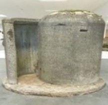 Einmmannschutzbunker ou Splitterschutzzellen (SSZ) Abri Anti Aerien Wasenau