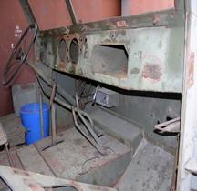 Half track Detail Cabine Avant