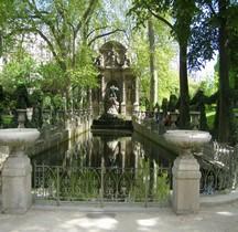 Paris Jardins Luxembourg Fontaine Médicis