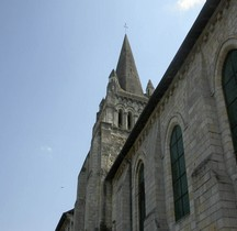 Maine et Loire  Cunault Eglise Notre  Dame