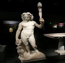 Statuaire Panthéon Bacchus Pompéï Naples MAN Nimes 2019
