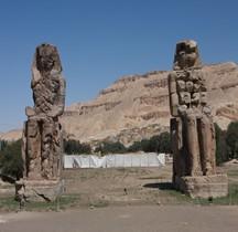 Thèbes  Colosses de Memnon