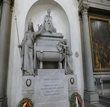 Florence Basilica di Santa Croce Interieur Cénotaphe Dante