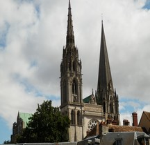 Eure Chartres Cathédrale Notre Dame Extérieur