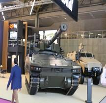 Otokar Tulpar Ligth tank Tourelle Cockerill 105mm Eurosatory 2018