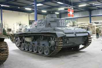 Panzer III Ausf E  Sdkfz 141  Saumur
