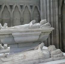 St Denis Basilique tombeau des Orleans Louis Orleans. Valentine Visconti