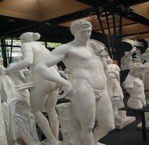 Statuaire Divinités Rome Hermes du Belvedere Museii Vaticani Copie  Montpellier