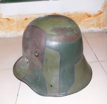 1eGM 1918 Deutscher Stahlhelm M1916  Camouflé Ludendorf