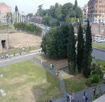 Rome Rione Celio Colossus Neronis Socle Statue