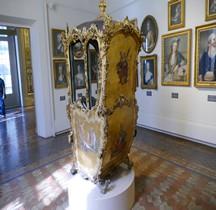 Naples 1750 Seggiolo Chaise à Porteurs Rome Palazzo Venezia