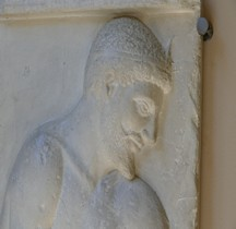 Statuaire Grèce Stela Borgia Naples Copie Bologne