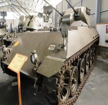 Automoteur Anti Aérien Schützenpanzer Lang HS.30   30-mm-Zwillingsturmes Prototype