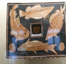 Grèce Céramique  Plat  Poisson Louvre