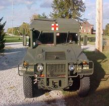 Humvee M996 Mini-Ambulance Armoured