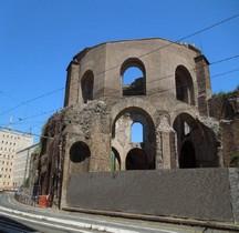 Rome Rione Esquilino Aula Decagonale  Tempio di Minerva Medica